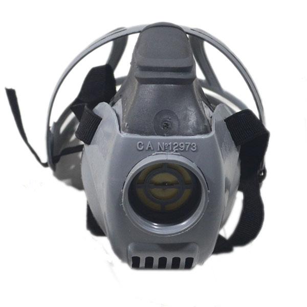 Máscara de proteção respiratória Semifacial Airsan, fabricada pela Air Safety